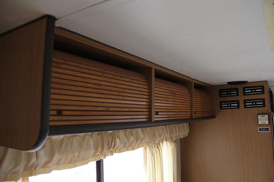 棚の扉の動きもよく破損もありません。