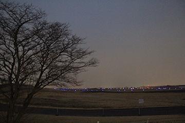 2015.9 GARAGELAND敷地内より入間基地を撮影