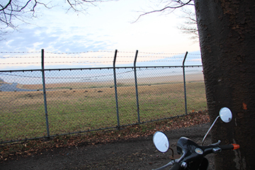 2015.11 GARAGELAND Vespa 50s 欅の木 フェンス 入間ベース