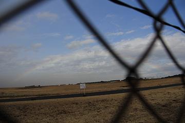 2015.11 GARAGELAND 敷地内より入間基地
