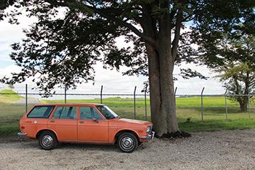2015.8 1972 Datsun 510 wagon 撮影スタジオ GARAGELAND