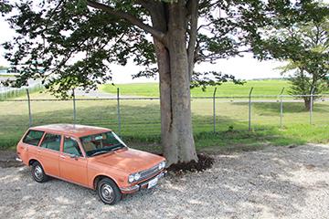 2015.8 1972 Datsun 510 wagon エアストリーム GARAGELAND