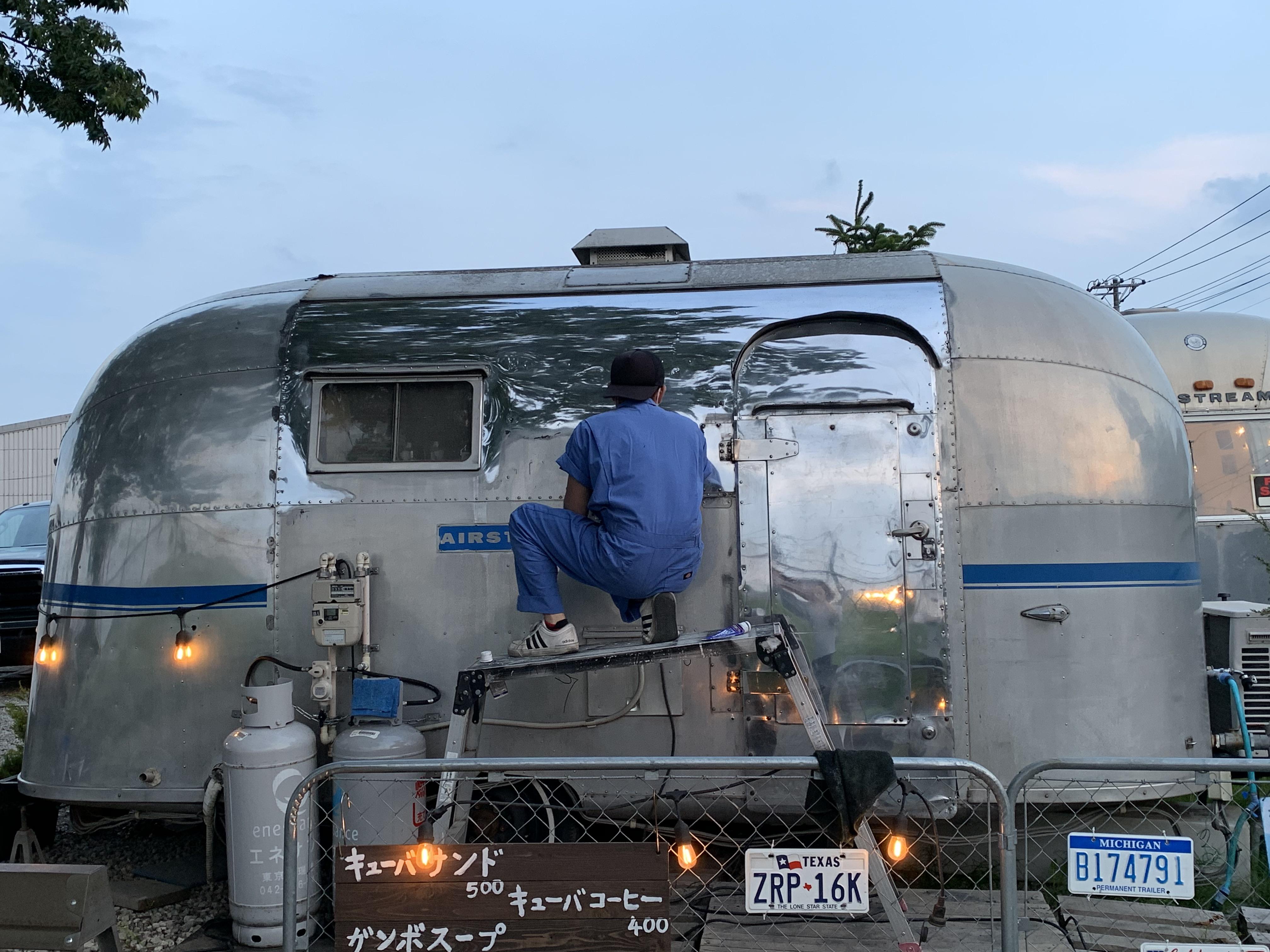 株式会社ガレージランド エアストリーム 輸入販売 在庫車 ヴィンテージ 埼玉県狭山市